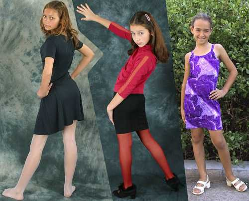Mini-Models - Sandy, Sonya and Willy